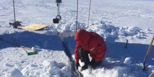 Спів антарктичного льодовика – як саундтрек з фільму жахів