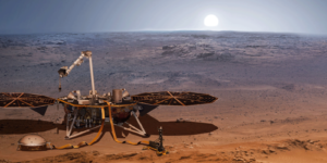 Міжпланетна станція NASA InSight надсилає перші дані з поверхні Марса