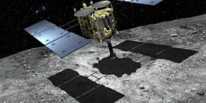 """Зонд """"Хаябуса-2"""" здійснив посадку на поверхню астероїда Рюгу"""