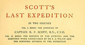 Роберт Фалькон Скотт, Леонард Хакслей та Сер Клементс Р. Маркхем «Остання експедиція Скотта» (1913)