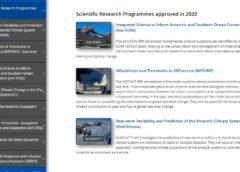 Нові програми наукових досліджень Антарктики