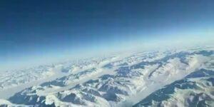 Вигляд Антарктиди з літака (відео пілотів)